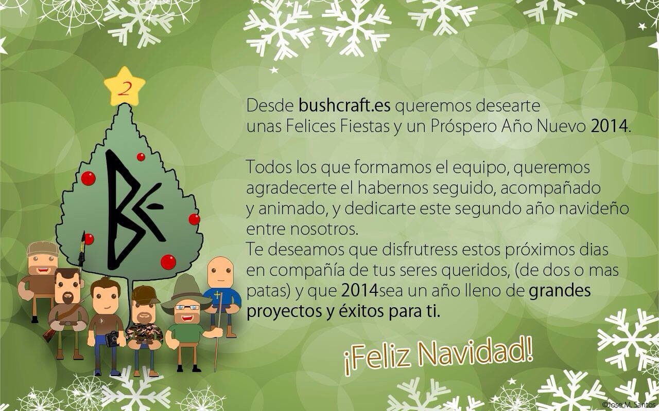 Feliz Navidad amigos y amigas