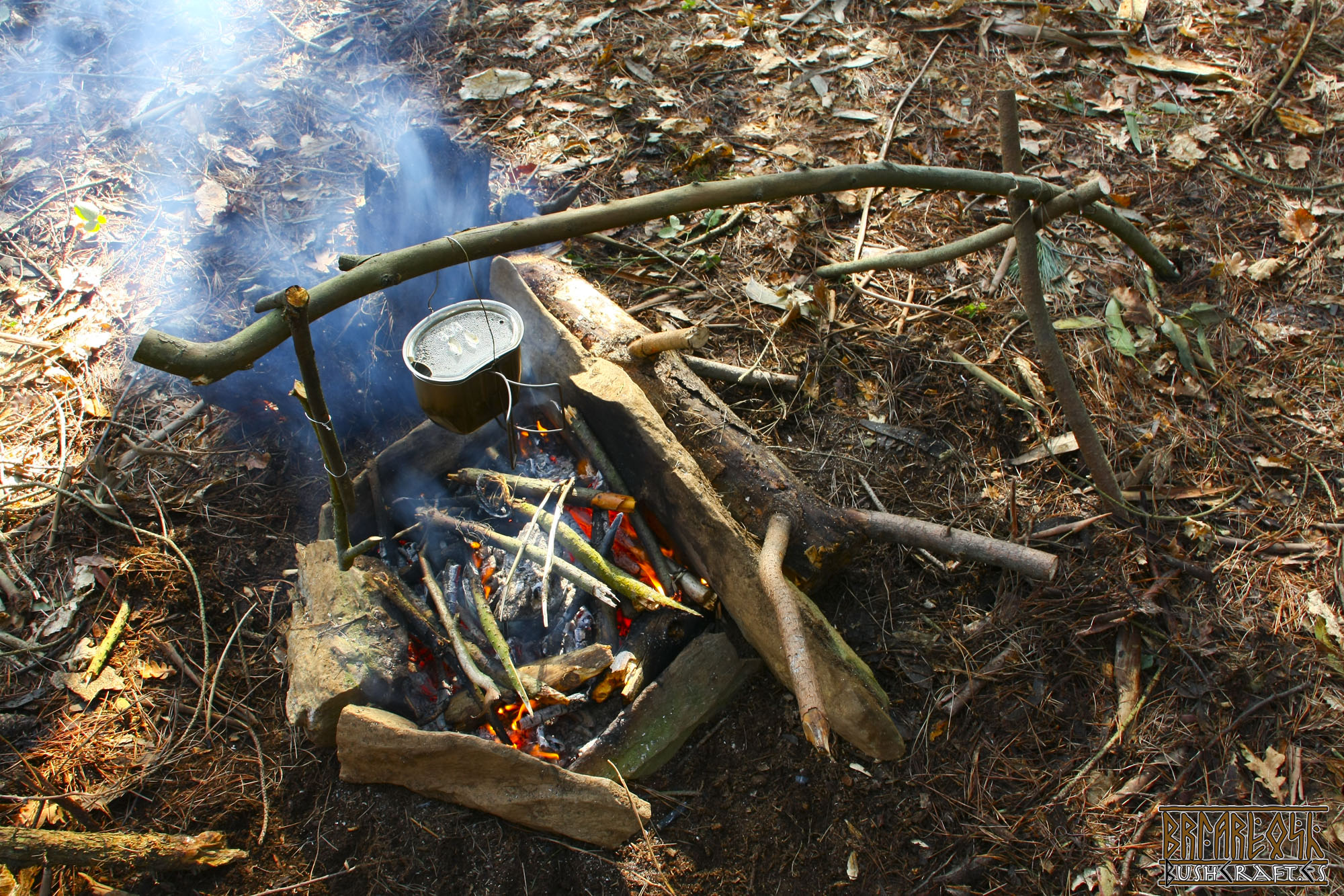 Bushcraft no es supervivencia.