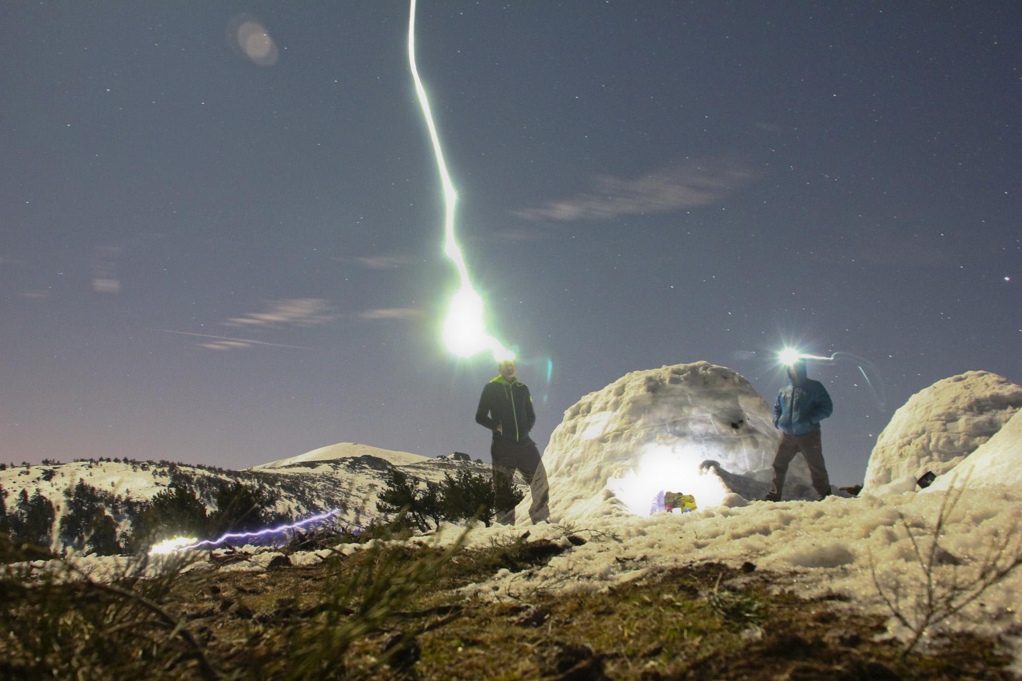 Curso de seguridad, emergencias y supervivencia deportiva en climas frios con Jaime Barrallo (Marzo 2014)