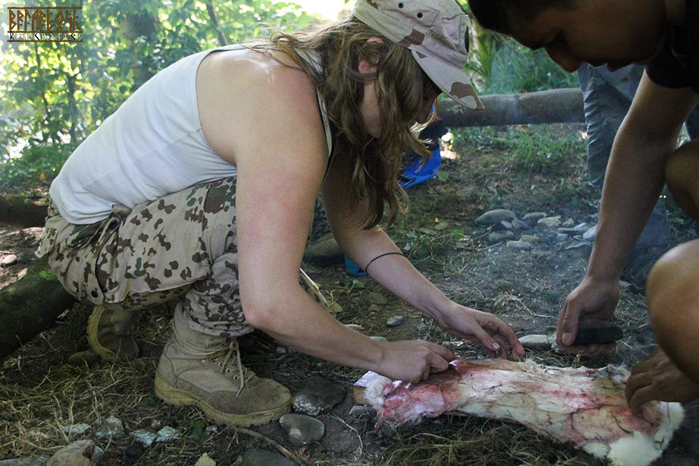 VI curso de supervivencia en medios naturales de Ortegalia